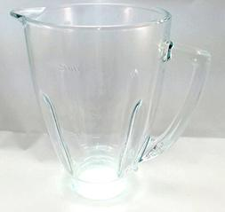 Oster 124461-000-000 Replacement Glass Blender Jar, 6-Cup, C