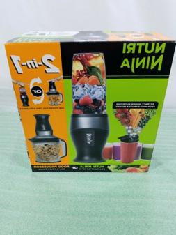 Nutri Ninja 2-In-1 Meal Prep - Blender / Food Processor -- N