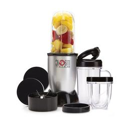 Magic Bullet 11 Blender Mixer Small Silver 250W Stainless St