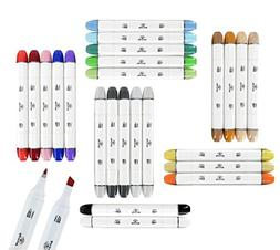 24 Professional Markers For Drawing Sketch Markers for Illus