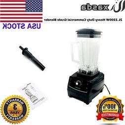 2L 2200W Heavy Duty Commercial Grade Blender Mixer Juicer Fo