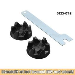 2pcs Rubber Coupler Gear Clutch & Removal Tool For Blender K