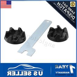 2pcs Rubber Coupler Gear Clutch & Removal Tool For Blender K