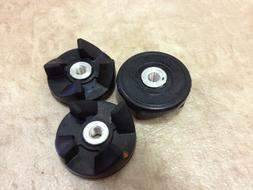 3 Rubber gear spare parts for magic bullet blenders