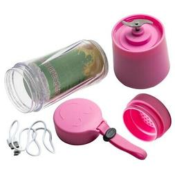 380ml USB Juicer Cup Handheld Fruit Smoothie Maker Blender P