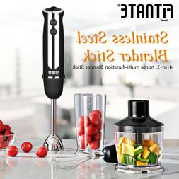 Fitnate 4-in-1 Smart Hand Blender Stick Immersion Mixer Kitc
