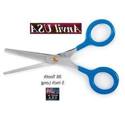 "ANVIL 440C STEEL 5"" 36 Tooth THINNING BLENDER SHEAR SCISSOR"