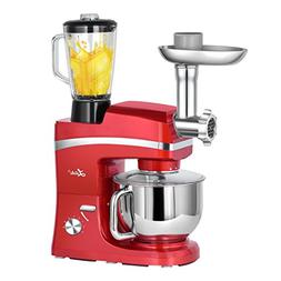 Litchi 5.3 Quart Stand Mixer, 6 Speed Tilt-Head Stand Mixer