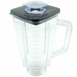 5 cup plastic blender jar with lid