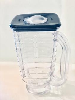 5 Cup Square Top 2 Piece Plastic Jar Replacement Part, Fits
