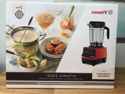 Vitamix 5300 64oz Container Blender - Red- New Sealed