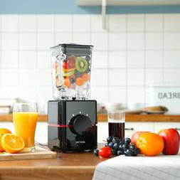 BESTEK 550 Watts Smoothie Blender Glass Jar, Single Serve Cu