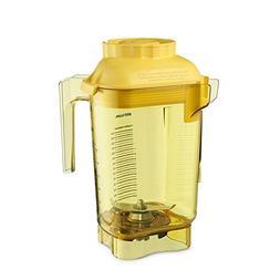 Vitamix 58989 Yellow Advance 48 Oz Tritan Container with Bla