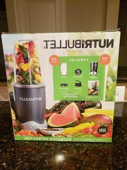 NutriBullet 6-Piece Nutrition Extractor Blender Juicer, NBR-