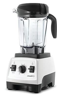 Vitamix 7500 Blender with Low Profile Jar, 2.2 HP Motor, Whi