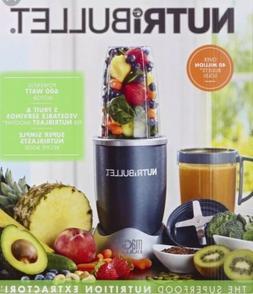 NutriBullet 8-Piece Nutrition Extractor Blender Juicer, NBR-