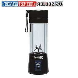 9'' Inch Blender Bottle Cup 6-Blade Blender Juicer Mixer USB