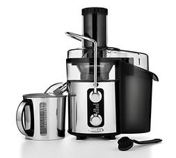 BELLA 5-SPEED Centrifugal Elite Stainless Steel Juicer, 1000