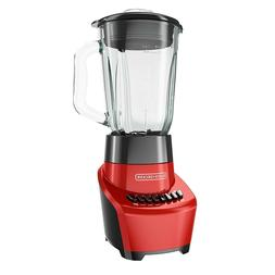BLACK+DECKER FusionBlade Blender with 6-Cup Glass Jar, 12-Sp