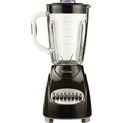 BRENTWOOD JB-920B 12-Speed Countertop Blender with Glass Jar