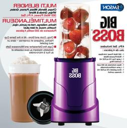 Big Boss 8867 4-Piece Personal Countertop Blender Mixing Sys