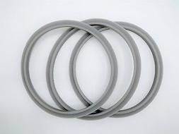 Blendin Set of 3 Gaskets with Lip, Fits Nutribullet Blenders