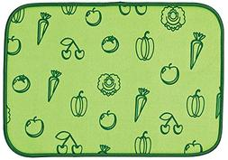 Envision Home 423800 Microfiber Fruit and Veggie Drying Mat,