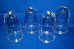 Four 4 Tall Cups for Magic Bullet Blender Juicer Brand New