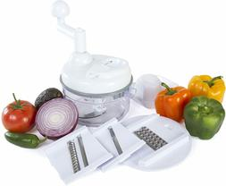 Kitchen + Home Manual Food Chopper - 4 in 1 Miracle Chopper,