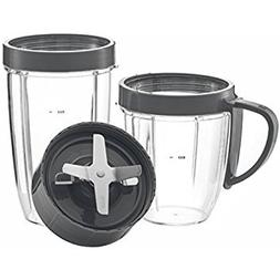 NUTRiBULLET Cups & Blade Replacement Set by NutriGear | Nutr