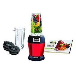 Ninja - Nutri Ninja 24-oz. Blender - Red