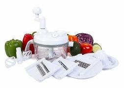 Ultra Chef Express Food Chopper – 7 in 1 Chopper, Mixer, B