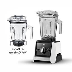 Vitămix Ascent A2300 White Blender with 48-Ounce Wet Contai