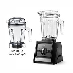 Vitămix Ascent A2500 Black Blender with 48-Ounce Dry Contai
