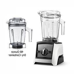 Vitămix Ascent A2500 White Blender with 48-Ounce Dry Contai