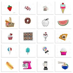 Authentic Origami Owl Charms FOOD TREATS COOKING Your Choice