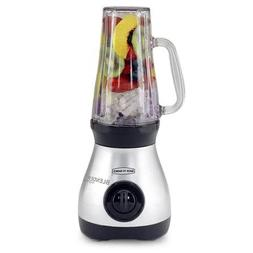 Back to Basics 3-Speed Brushed Chrome Personal Blender Expre