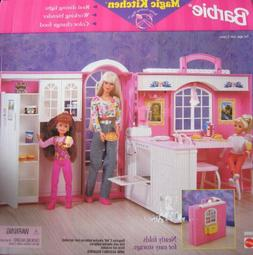 Barbie Magic Kitchen Playset by Mattel in Box Never Opened