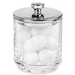 mDesign Bathroom Vanity Storage Organizer Canister Jars for