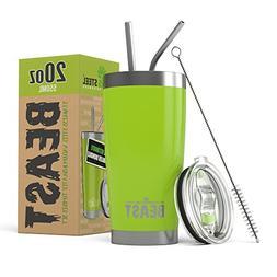 Beast 20 oz. Tumbler Stainless Steel - Vacuum Insulated Ramb