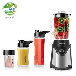 BESTEK BL15 Personal Blender and Coffee Grinder 2-in-1, Sing
