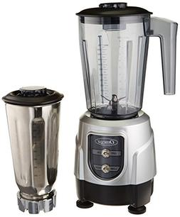 Omega BL390S 1-HP Blender, Tritan Copolyester and Stainless