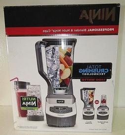 Ninja BL660B 1100W Professional Blender & 2-Nutri Ninja Cups