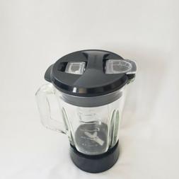 Black & Decker Blender Replacement Glass Jar 48 oz w/ Lid