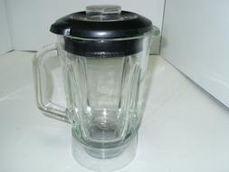Black Decker Personal Blender Glass Pitcher Jar 48oz 6 Cups