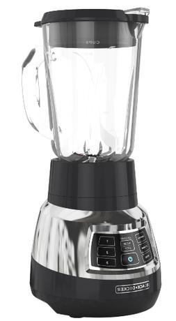 BLACK+DECKER Quiet Blender with Cyclone Glass Jar, BL1400DG-