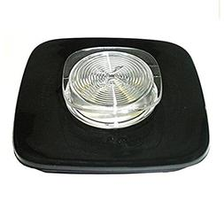 Goodbuy-US Black Glass Jar Cover Replacement Part for Oster