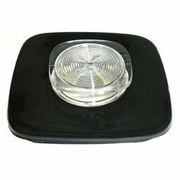 Black Jar Lid and Center Cap for Oster & Osterizer Blenders,