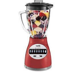 Oster Blender 14 Speed with Glass Jar 6694-R Red