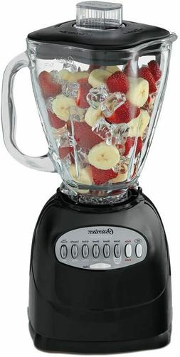 Oster Blender 700W with Glass Jar, 5 Smoothie cup, Brushed N
